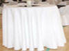 Flat White Table Cloth
